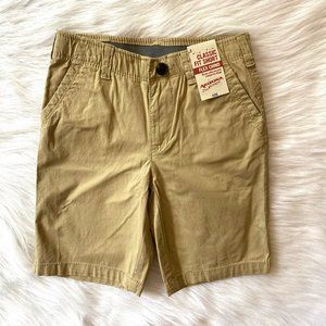 Arizona Boys Tan Classic Fit Flex Chino Shorts 6